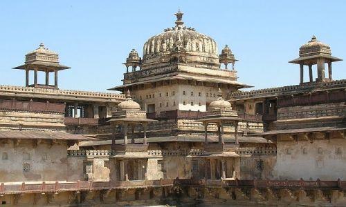 INDIE / Madhja Pradesh / Orchha / Dżahangir Mahal