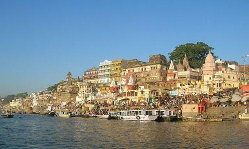 INDIE / Uttar Pradesh / Waranasi / Ghaty 4