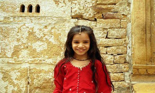 Zdjęcie INDIE / Rajasthan / Jaisalmer / Uśmiech Złotego Miasta