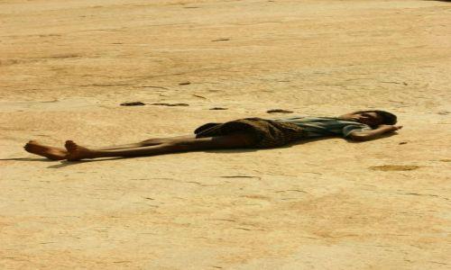 Zdjęcie INDIE / Hampi  / Hampi / Plaża  kamienna