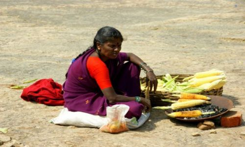Zdjęcie INDIE / Bengalore / Bengalore / Kukurydza