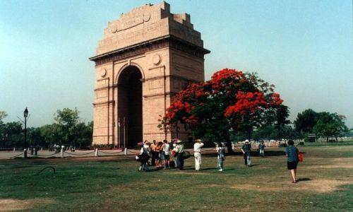 Zdjecie INDIE / - / NEW DELHI / Konkurs - Drzwi świata - Brama Indii