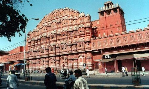 INDIE / Rajasthan / Dżajpur / Pałac Wiatrów