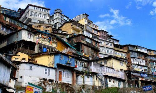 Zdjęcie INDIE / Himachial Pradesh / Shimla / Architektóra po kolonialna