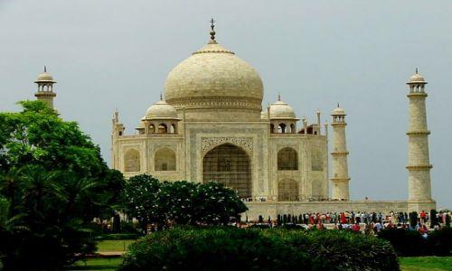 Zdjęcie INDIE / Agra / Taj Mahal / Taj ten wielki Taj