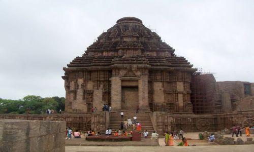 Zdjecie INDIE / Orissa / Konarak / Świątynia słońca