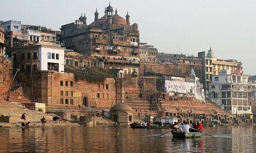 Zdjecie INDIE / Varanasi / Varanasi / Varanasi meczet Aurangzeba