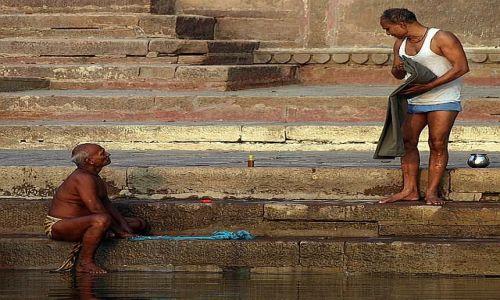 Zdjecie INDIE / Varanasi / Varanasi / widziałeś moje mydło ?