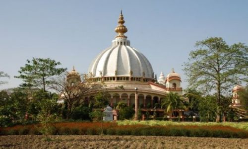 Zdjecie INDIE / West Bengal / 150 km. od Kalkuty / Iskcon Temple Maya Pur