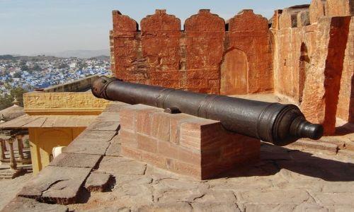 Zdjecie INDIE / Rajasthan / Jodhpur / fort Meherangarh
