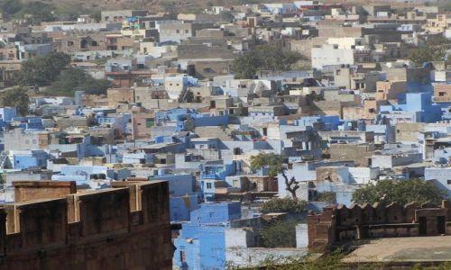 INDIE / Rajasthan / Jodhpur / widok z fortu