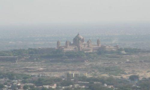 INDIE / Rajasthan / Jodhpur / widok na pałac Umaid Bhawan