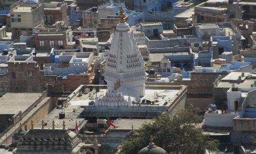 INDIE / Rajasthan / Jodhpur / światynie Jodhpuru