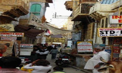 INDIE / Rajasthan / Jaisalmer - pustynia Thar / bajkowy fort