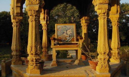 INDIE / Rajasthan / Jaisalmer - pustynia Thar / maharadża
