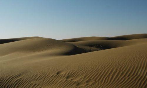 Zdjecie INDIE / Rajasthan / Jaisalmer - pustynia Thar / piaskownica