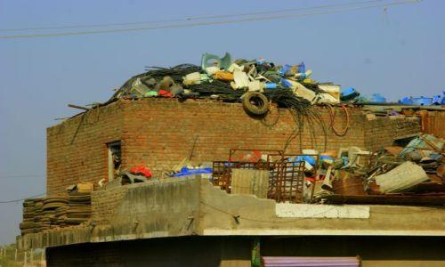 Zdjęcie INDIE / Jumnagadar / Jumnagadar / Na dachu