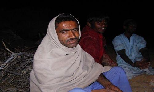 INDIE / Rajasthan / Jaisalmer - pustynia Thar / nocne opowieści