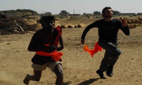 INDIE / Rajasthan / Jaisalmer - pustynia Thar / wyścig