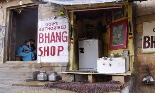 INDIE / Rajasthan / Jaisalmer - pustynia Thar / w centrum miasta....