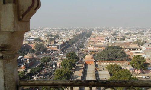 INDIE / Rajasthan / Jaipur / widok na miasto