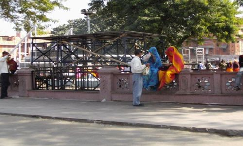 INDIE / Rajasthan / Jaipur / rozmowa kontrolowana