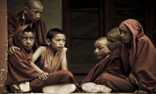 INDIE / Ladakh / Lamayuru / Młodzi mnisi