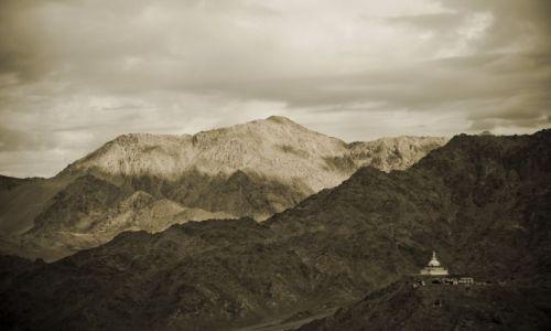 Zdjęcie INDIE / Ladakh / Leh / Shanti Stupa
