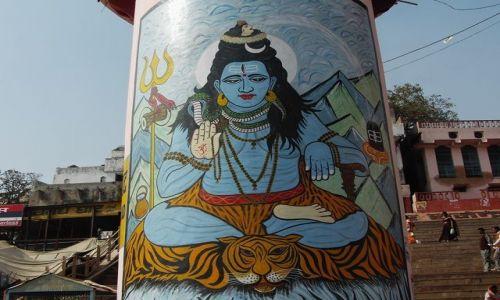 INDIE / Uttar Pradesh / Varanasi / bóstwo
