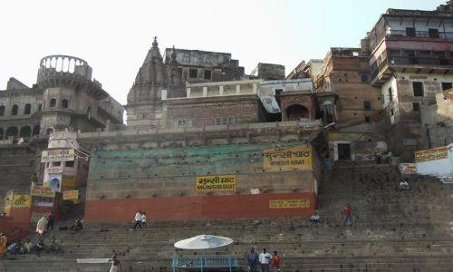 INDIE / Uttar Pradesh / Varanasi / Ghaty