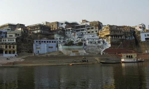 INDIE / Uttar Pradesh / Varanasi / wybrzeże