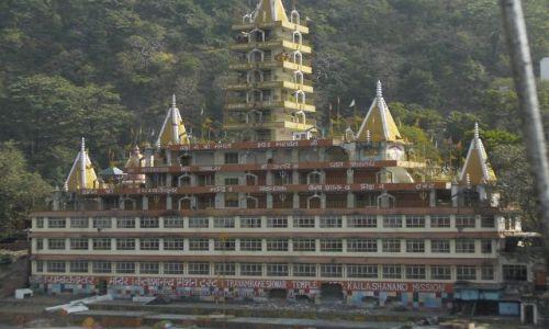 INDIE / Uttaranchal / Rishikesh / Świątynia