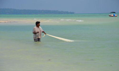 Zdjęcie INDIE / Andamany / Havelock Island / połów