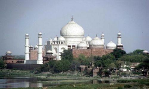 Zdjęcie INDIE / Agra / Taj Mahal / Taj Mahal inaczej...