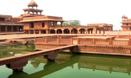 Zdjęcie INDIE / - / Fatehpur Sikhri / Fatehpur Sikhri