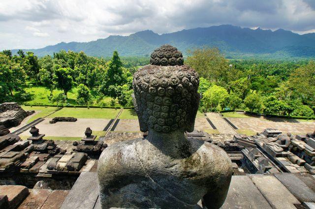 Zdjęcia: Borobudur Temple, Jawa, pięknie i majestatycznie, INDONEZJA