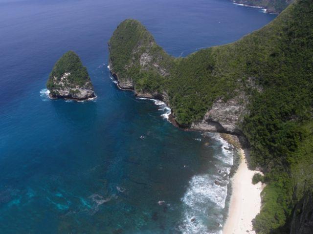 Zdjęcia: południowe wybrzeże, Nusa Penida, Ukryta plaża, INDONEZJA