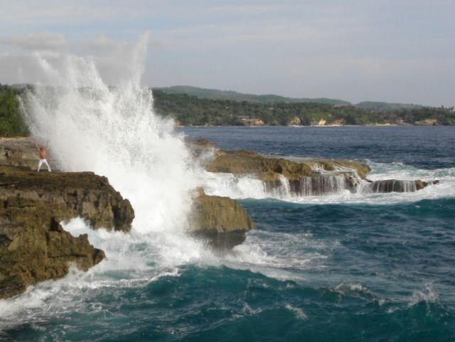 Zdjęcia: Devil's Tear, Nusa Lembognan, Siła oceanu, INDONEZJA