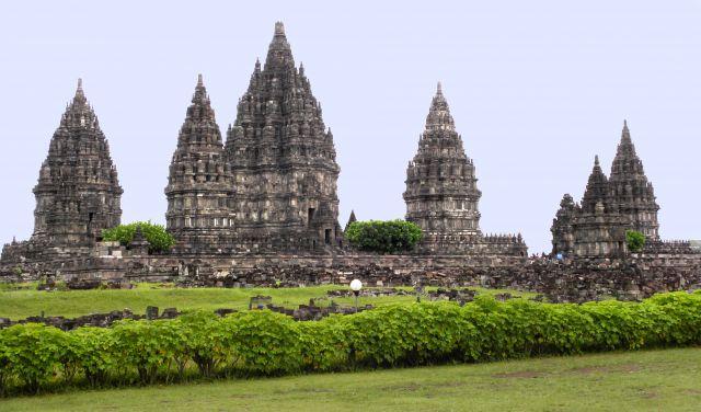 Zdjęcia: okolice Jogjakarty, Jawa, Świątynia Prambanan, INDONEZJA