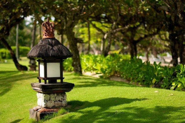 Zdjęcia: Nusa Dua, Bali, Lampion przy deptaku (Bali, Indonesia), INDONEZJA
