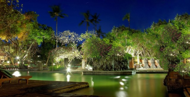 Zdjęcia: Bali Hyatt Hotel-Sanur, Bali, Hotelowy basen, INDONEZJA