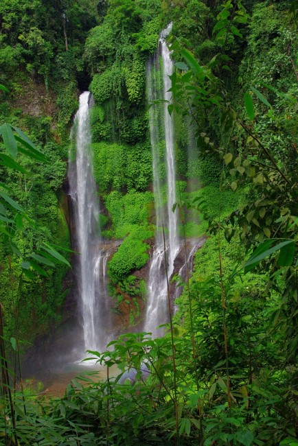 Zdjęcia: Wodospad Sekumpul, Bali, Wodospad, INDONEZJA