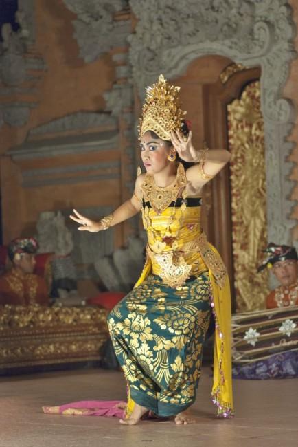 Zdjęcia: Ubud, Bali, Ubud Palace-taniec Legong, INDONEZJA