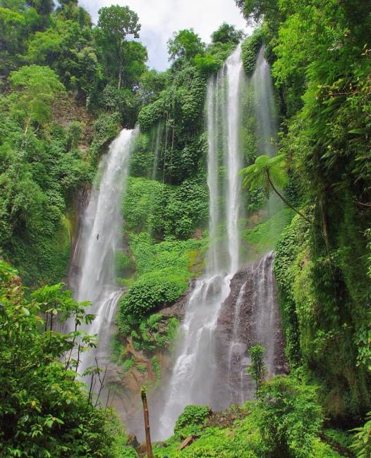 Zdjęcia: Sekumpul, Bali, Wodospad Sekumpul, INDONEZJA