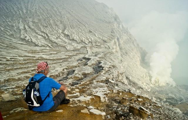 Zdjęcia: Ijen, -Banyuwangi, ze szczytu, INDONEZJA