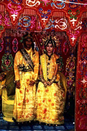 Zdjęcia: Sorong, west Papua, Na ślubnym kobiercu, INDONEZJA