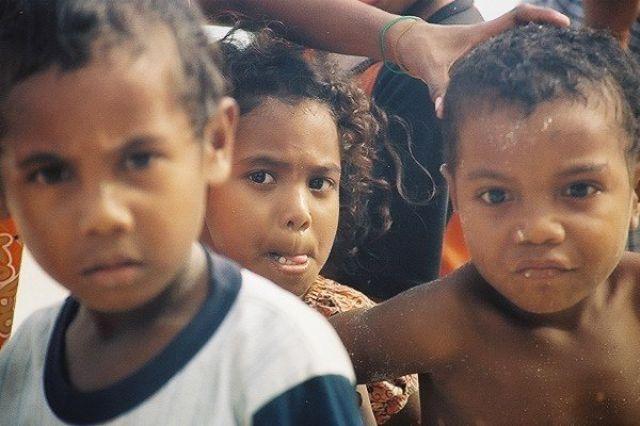 Zdjęcia: Biak Regency, West Papua, Dzieci, INDONEZJA