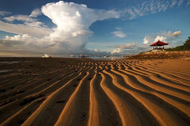 Zdjęcia: Sanur, Bali, Plaża, INDONEZJA