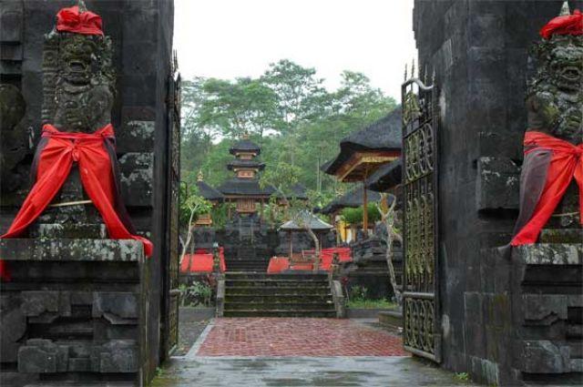 Zdj�cia: Pura Besakih, Bali, Pola ry�owe, INDONEZJA