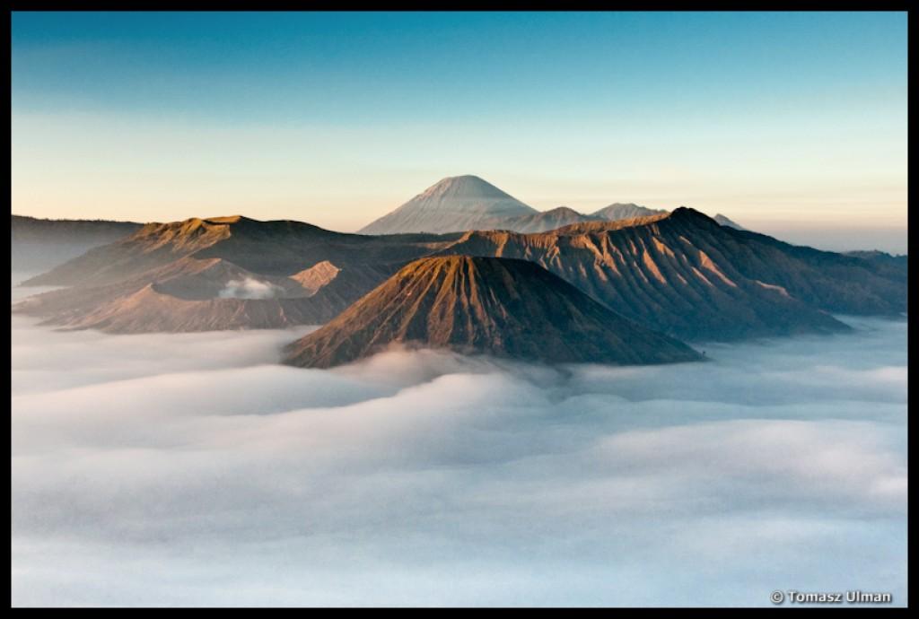 Zdjęcia: Bromo, Jawa, wschód słońca i Bromo, INDONEZJA